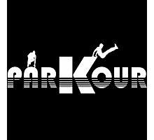 Logo Parkour Photographic Print