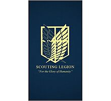 scouting legion,Attack On Titan Photographic Print