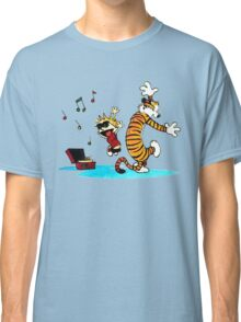 Calvin and Hobbes Dance Classic T-Shirt