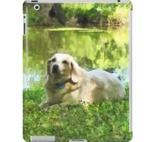 Yellow Lab by Lake iPad Case/Skin