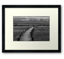 Boardwalk - San Luis Valley Framed Print