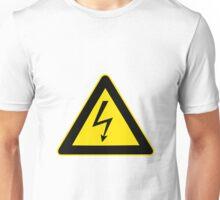 High Voltage Symbol Unisex T-Shirt