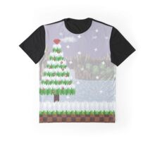 Green Hill Christmas Graphic T-Shirt