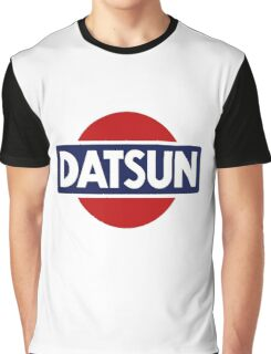 Old School Datsun Car Shirt, Sticker, Case, Skin, Poster, Mug Old School Classic Graphic T-Shirt
