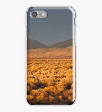 Great Sand Dunes NP at Sunset iPhone Case/Skin
