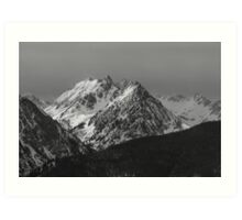 The Gore Range Art Print