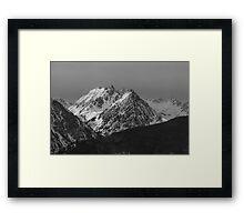 The Gore Range Framed Print