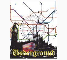 Underground Overground One Piece - Long Sleeve
