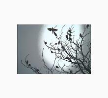 Spooky BLACK BIRD TREE Unisex T-Shirt