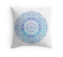 Psychedelic Mandala - Two Throw Pillow