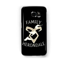 Family Herondale Samsung Galaxy Case/Skin