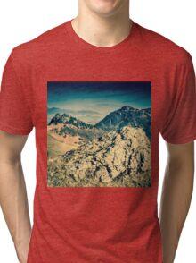 Borrowdale Valley, Lake District Tri-blend T-Shirt