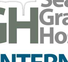 Seattle Grace Hospital Intern – Mercy West, Grey's Anatomy Sticker