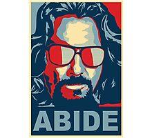 The Dude Abides (The Big Lebowski) Photographic Print