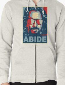 The Dude Abides (The Big Lebowski) Zipped Hoodie