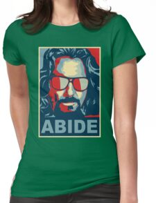 The Dude Abides (The Big Lebowski) Womens Fitted T-Shirt