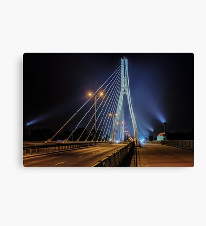 Swietokrzyski Bridge Canvas Print