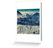 Borrowdale Valley, Lake District Greeting Card