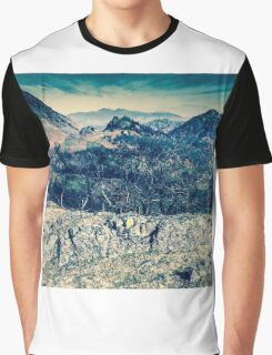 Borrowdale Valley, Lake District Graphic T-Shirt