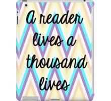 Reader iPad Case/Skin