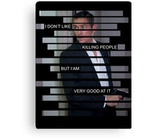 Reese - Person of interest - Quote Canvas Print