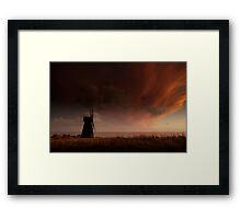 Rottingdean Windmill Framed Print
