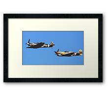 Brothers in Arms Framed Print