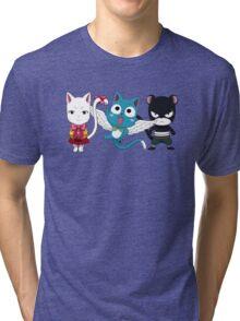 Fairy tail - Kawaii team Tri-blend T-Shirt