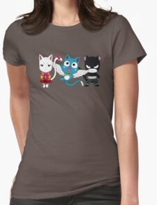 Fairy tail - Kawaii team Womens Fitted T-Shirt
