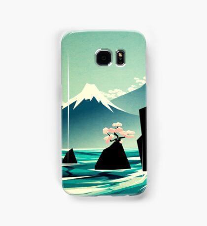 Waterfall blossom dream Samsung Galaxy Case/Skin