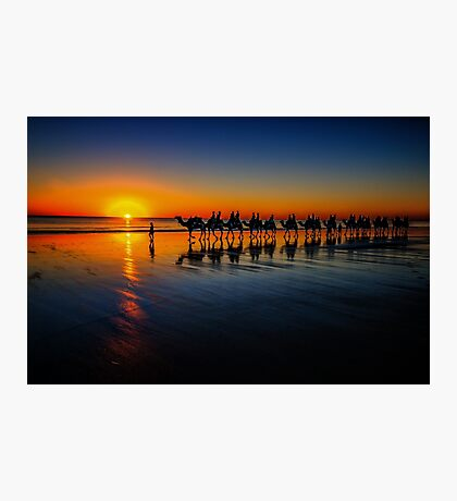 Cable Beach Camels Photographic Print