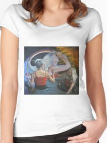 The Artist Women's Fitted Scoop T-Shirt