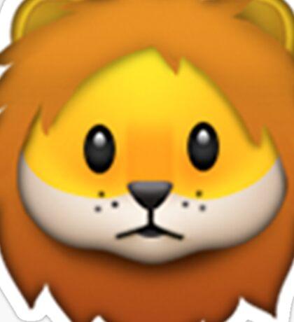 Emoji Lion Sticker