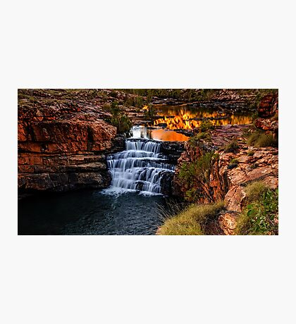 Sunrise at Bell Gorge  Photographic Print