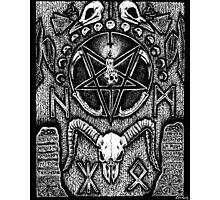 An Altar for Hugin & Munin Photographic Print