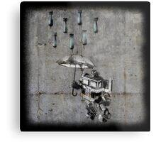 Optimus Prime - Urban Warfare Metal Print