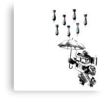 Optimus Prime - Urban Warfare Canvas Print