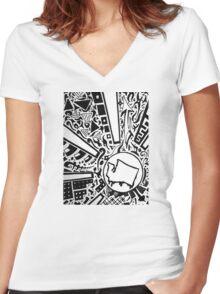 Washington Sun Women's Fitted V-Neck T-Shirt