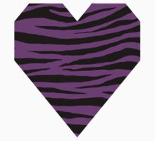 0536 Phlox or Psychedelic purple Tiger Kids Tee