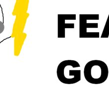 Fear God Sticker