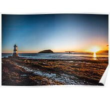 Penmon Lighthouse , Anglesey  Poster