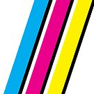 CMYK Stripe Graphic by Joe Smith