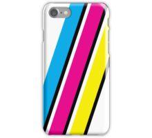 CMYK Stripe Graphic iPhone Case/Skin
