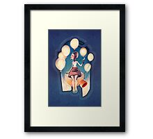 Balloon Party Framed Print