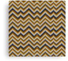 Patchwork Colours - sand Canvas Print