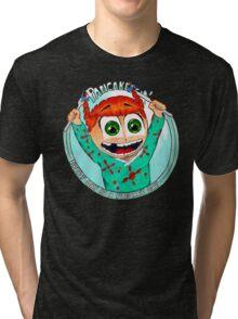 Pancake Girl Tri-blend T-Shirt