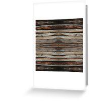 wood 2 Greeting Card