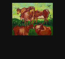 'Les Vaches' by Vincent Van Gogh (Reproduction) Unisex T-Shirt