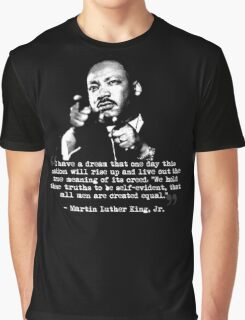 Martin Luther King, Jr. Quote: All Men Graphic T-Shirt