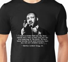 Martin Luther King, Jr. Quote: All Men Unisex T-Shirt
